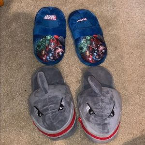 2 for 2 house slippers